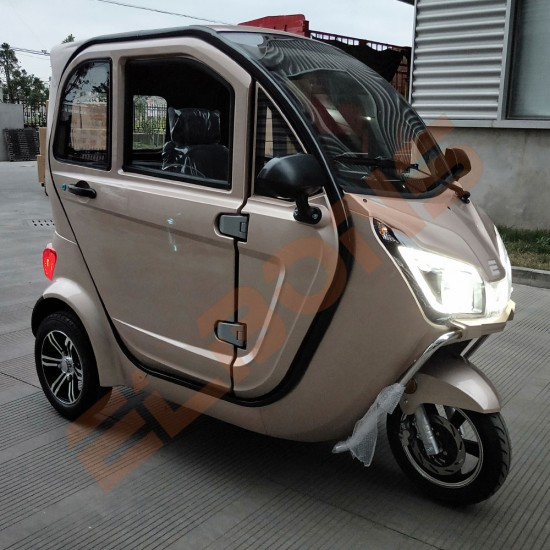 Auto Triciclu Electric ELBONS 3Zenn Gold